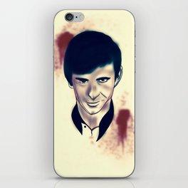 Norman Bates evolution iPhone Skin
