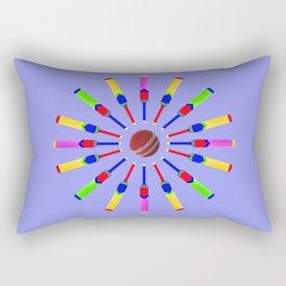 Sport Of Cricket Design version 2 Rectangular Pillow