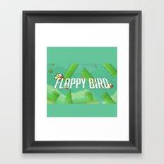 Flappybird Framed Art Print