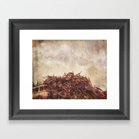Junk  Framed Art Print