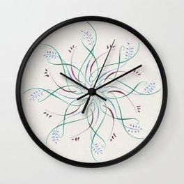 Star Medallion Wall Clock