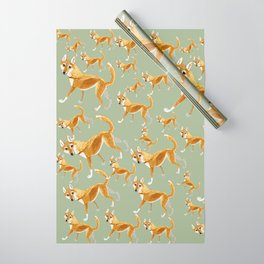Ginger dingo pattern Wrapping Paper