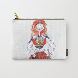 MARIA FROM MINHO, PORTUGAL Carry-All Pouch