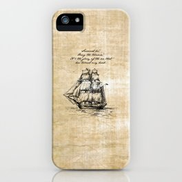 Treasure Island - Robert Louis Stevenson iPhone Case