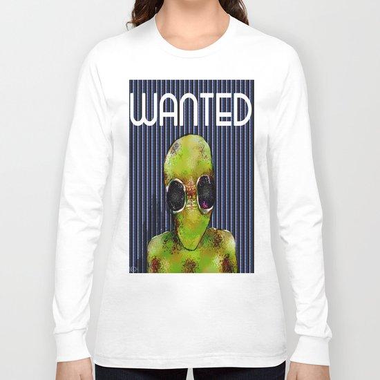 Wanted Alien Long Sleeve T-shirt