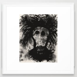 Beardo (ANALOG zine) Framed Art Print