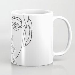 Nervous oneline facetrace Coffee Mug