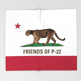 Friends of P-22 Throw Blanket