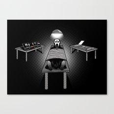 Dexter's Latest Catch Canvas Print