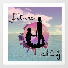 the future Art Print