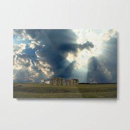Stonehenge I Metal Print