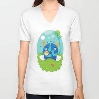 dreams V-neck T-shirts featuring Dreams by Maria Jose Da Luz