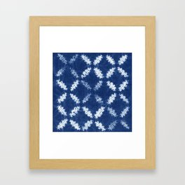 Shibori One Framed Art Print