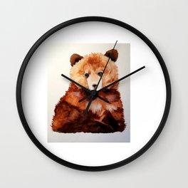 Little Bear Necessities Wall Clock
