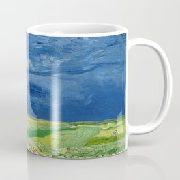 Wheatfield Under Thunderclouds by Vincent van Gogh (1890) Coffee Mug