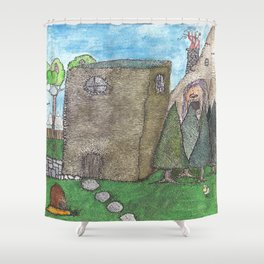 The Summer House Shower Curtain