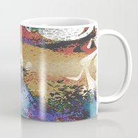 australia Mugs featuring Australia by Art Dissolution