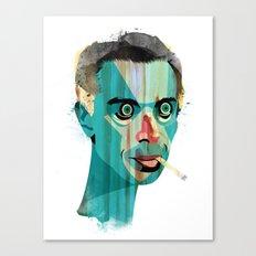 Smoker Canvas Print