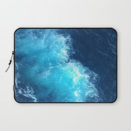 Ocean Blue Waves Laptop Sleeve
