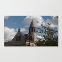 old school Canvas Prints featuring Old School by Kammy Nature Prints