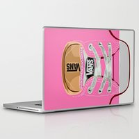 vans Laptop & iPad Skins featuring Cute pink Vans all star baby shoes apple iPhone 4 4s 5 5s 5c, ipod, ipad, pillow case and tshirt by Three Second
