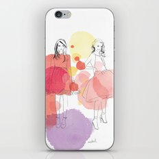 Amelia's Party iPhone & iPod Skin