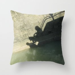 Falling into the Water #moods #buyartprints #society6 Throw Pillow