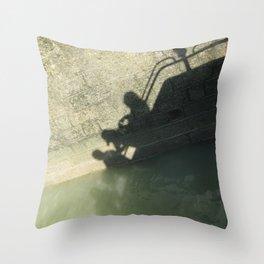 Falling into the Water #moods #buyartprints #society6 Throw Pillow