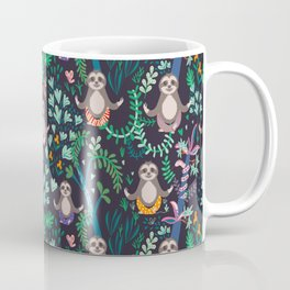 yoga sloths Coffee Mug