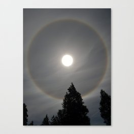 California Rainbow Sundog  Canvas Print
