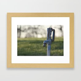 Water pump Framed Art Print