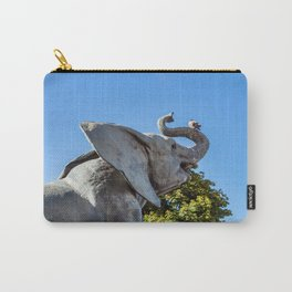 Elephant statue outside museum d'Orsay in Paris Carry-All Pouch