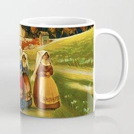Vintage Abruzzo Italy Travel Coffee Mug