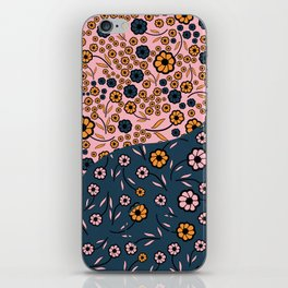 Yin and Yang Florals iPhone Skin