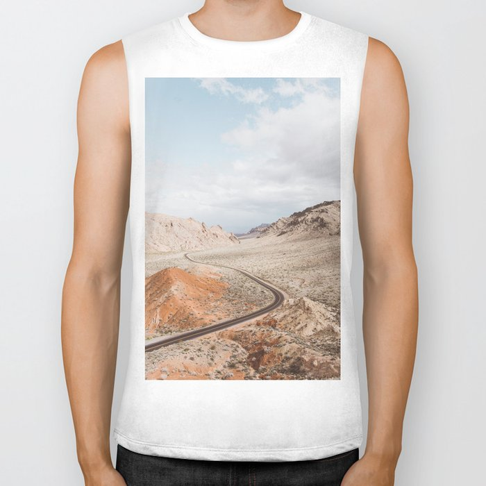 Valley of Fire | Pt. 1 Biker Tank