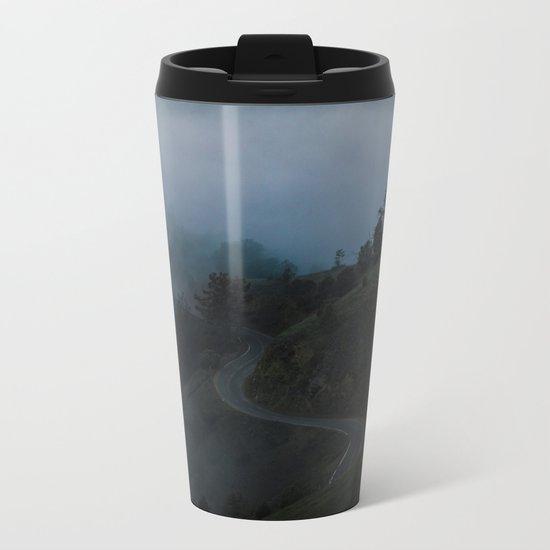 Dark Valley #fog Metal Travel Mug
