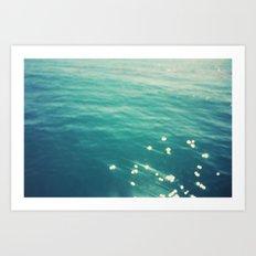 Sparkling Waters Art Print