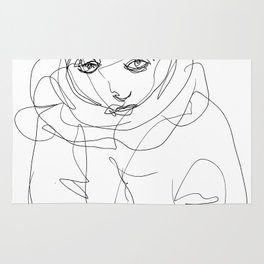 Winter Portrait #1 Rug