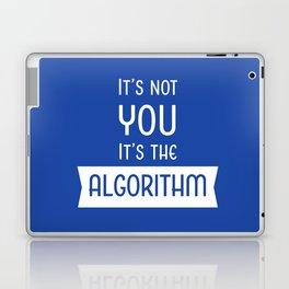 Social Media Algorithm Blues Laptop & iPad Skin