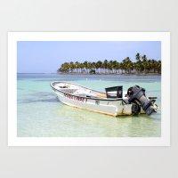 scuba Art Prints featuring Scuba Libre by Dancing Dream
