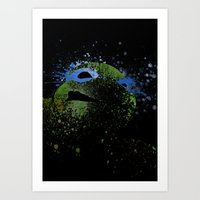 leo Art Prints featuring Leo by Arian Noveir