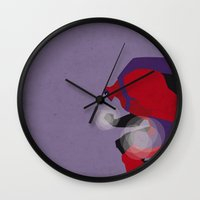 magneto Wall Clocks featuring My Magneto by Osvaldo Casanova