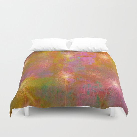 Starburst Abstract Duvet Cover