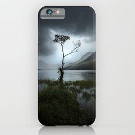 Lone Tree - Lake District iPhone Case