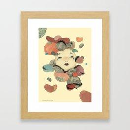 Broken Memory Framed Art Print