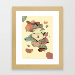 Broken Memory Framed Art Print