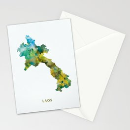 Laos Stationery Cards
