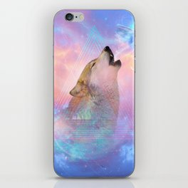 Dream By Day (Wolf Dreams - Remix Series) iPhone Skin