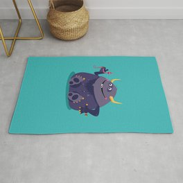 Monster Friends – Illustration for children, Kids art Rug