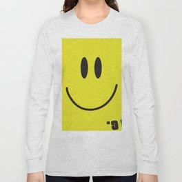 Acid house '91 vintage smiley face Long Sleeve T-shirt